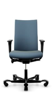 scaun albastru birou