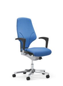 scaun albastru pentru birou