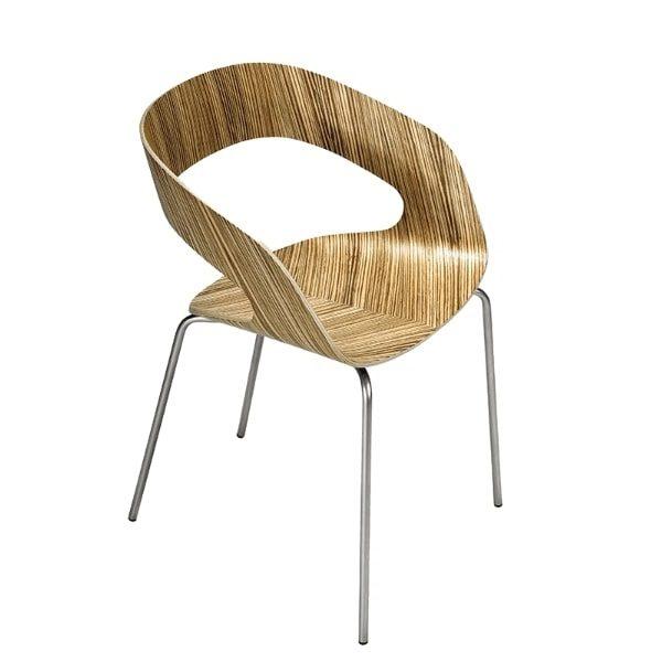 scaun din placaj natur