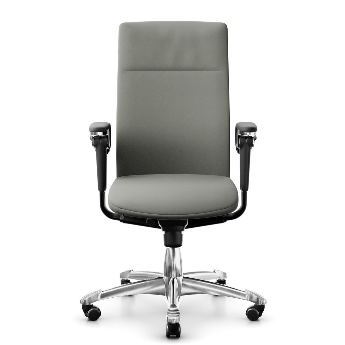 scaun ergonomic din piele