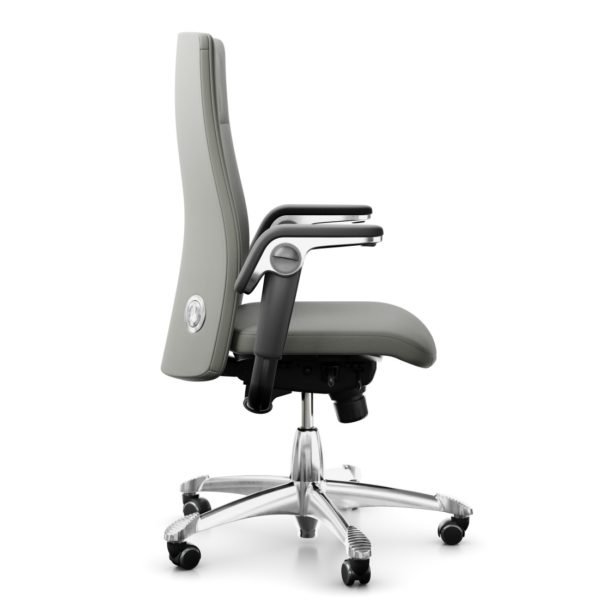scaun ergonomic piele