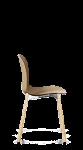 scaun furnir picioare lemn
