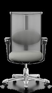scaun mesh gri