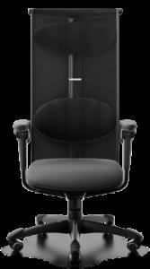 scaun mesh negru