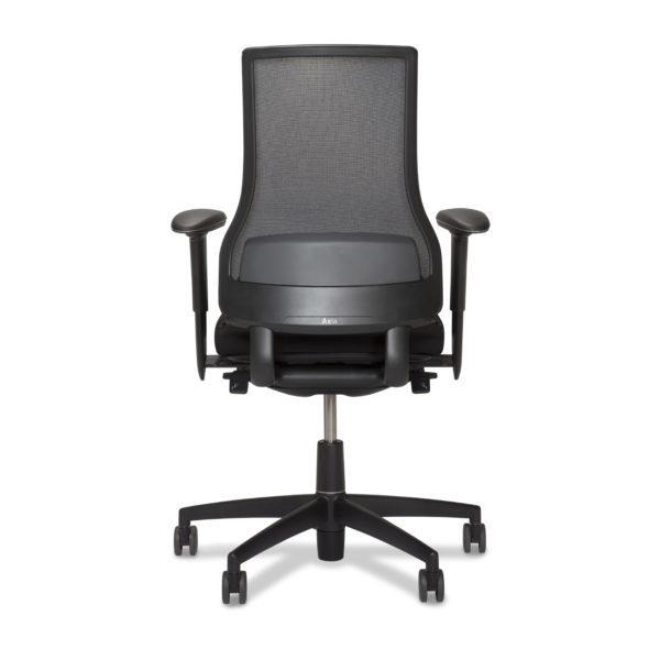 scaun mesh negru ergonomic