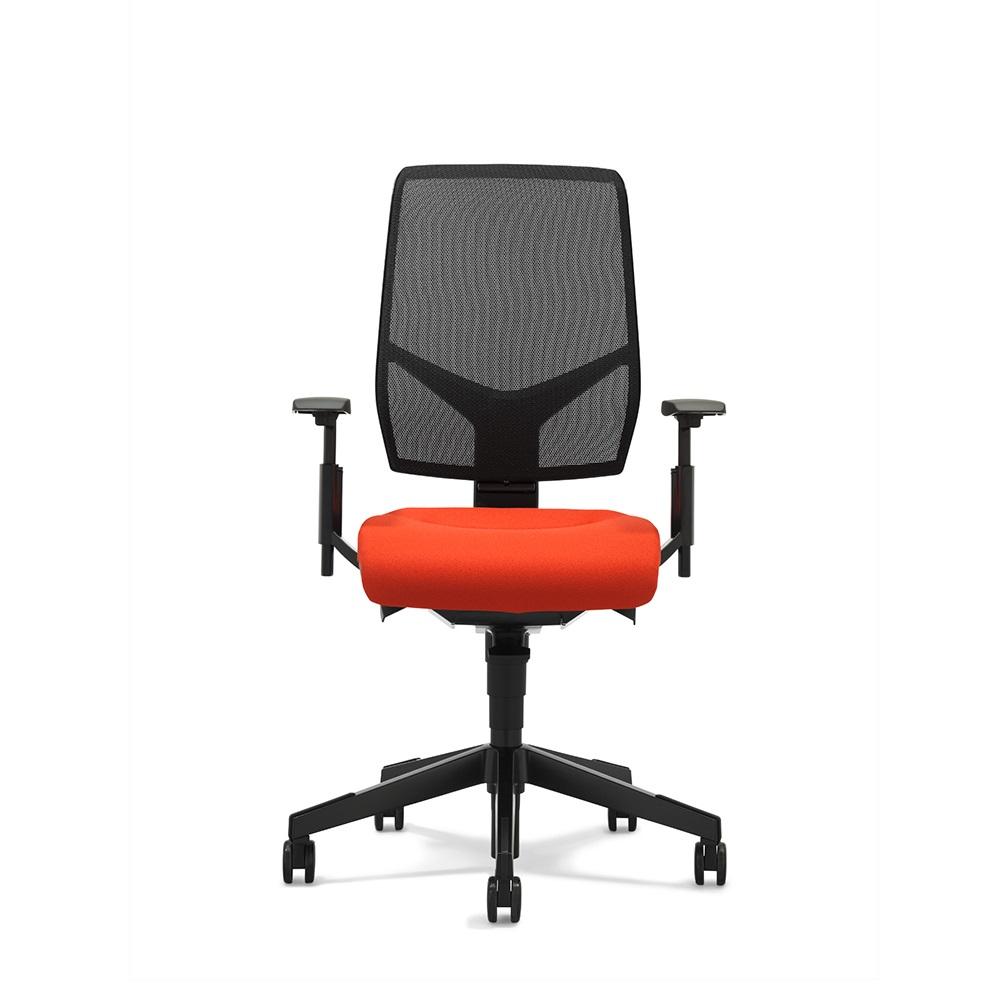 scaun mesh portocaliu