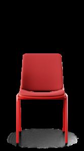 scaun rosu sala mese