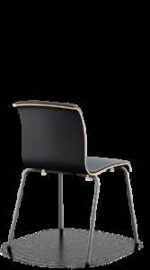 scaun stivuibil negru