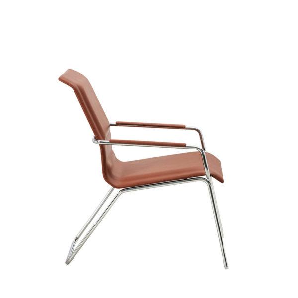 scaun din piele receptie