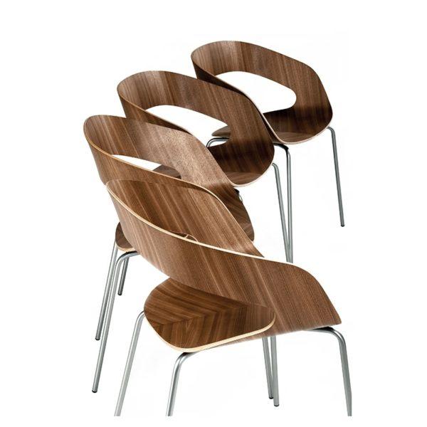 scaune stivuibile placaj