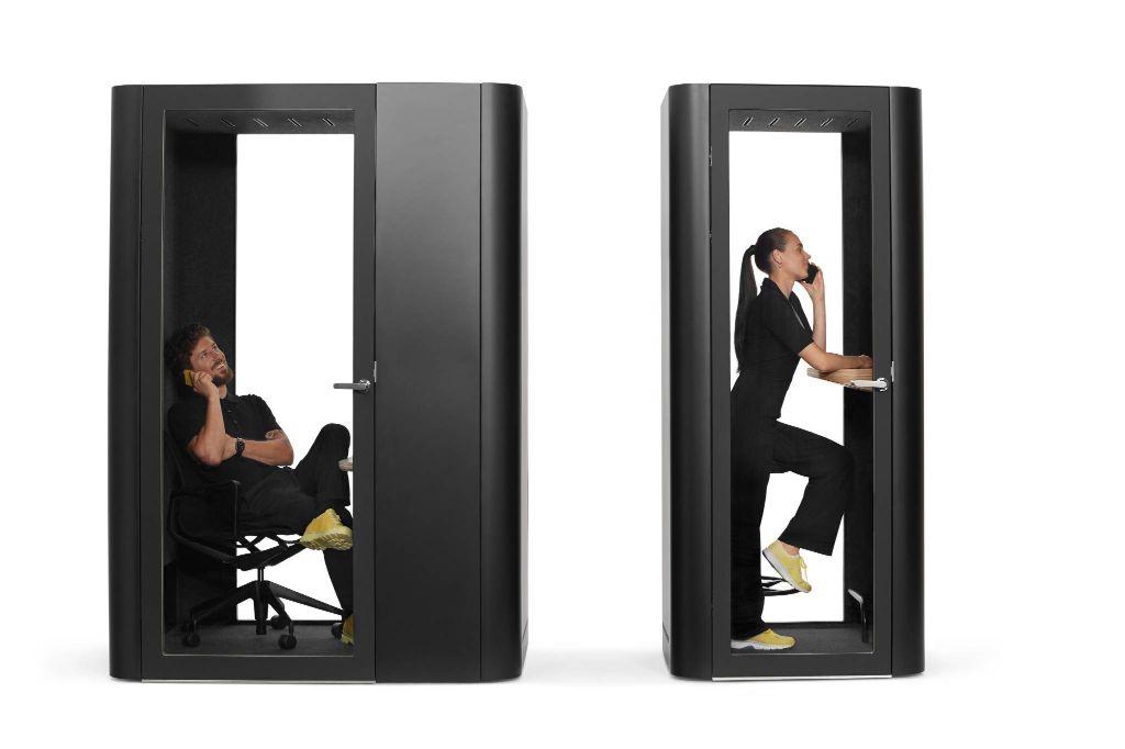 cabina acustica pentru birou