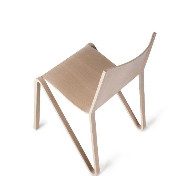 scaun minimalist placaj