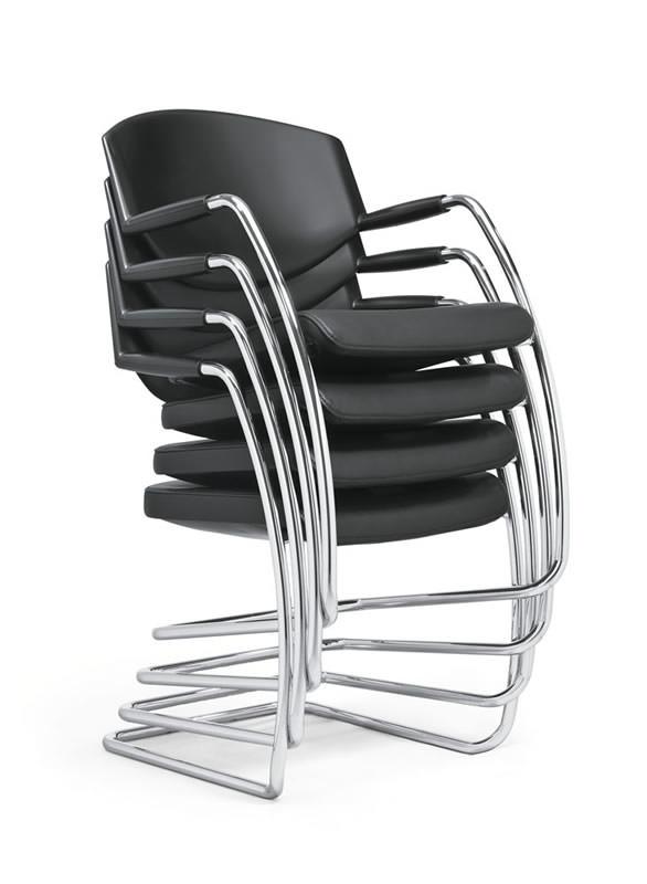 scaune stivuibile vizitator