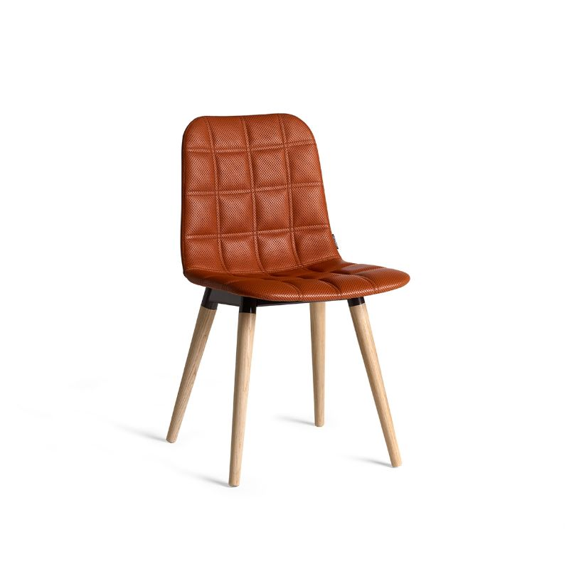 scaun tapitat scandinav