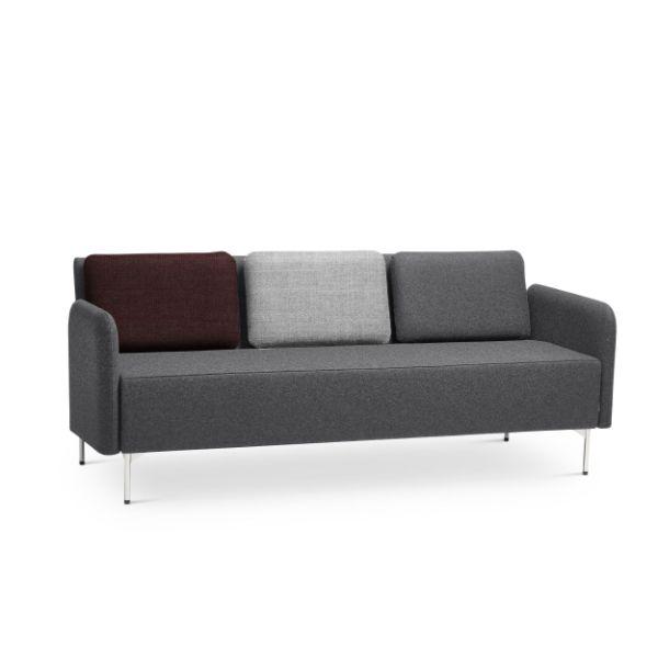 canapea 3 locuri cu design nordic