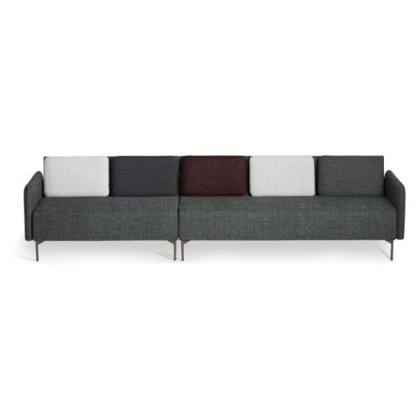 canapea modulara cu 5 locuri