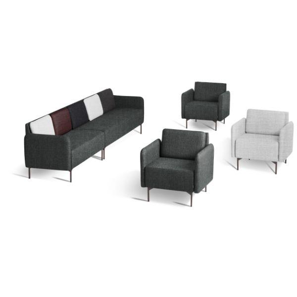fotolii si canapele modulare pentru spatii office