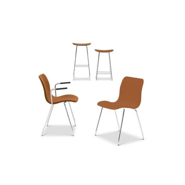 scaune design suprapozabile