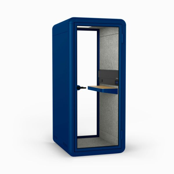 cabina albastra birou