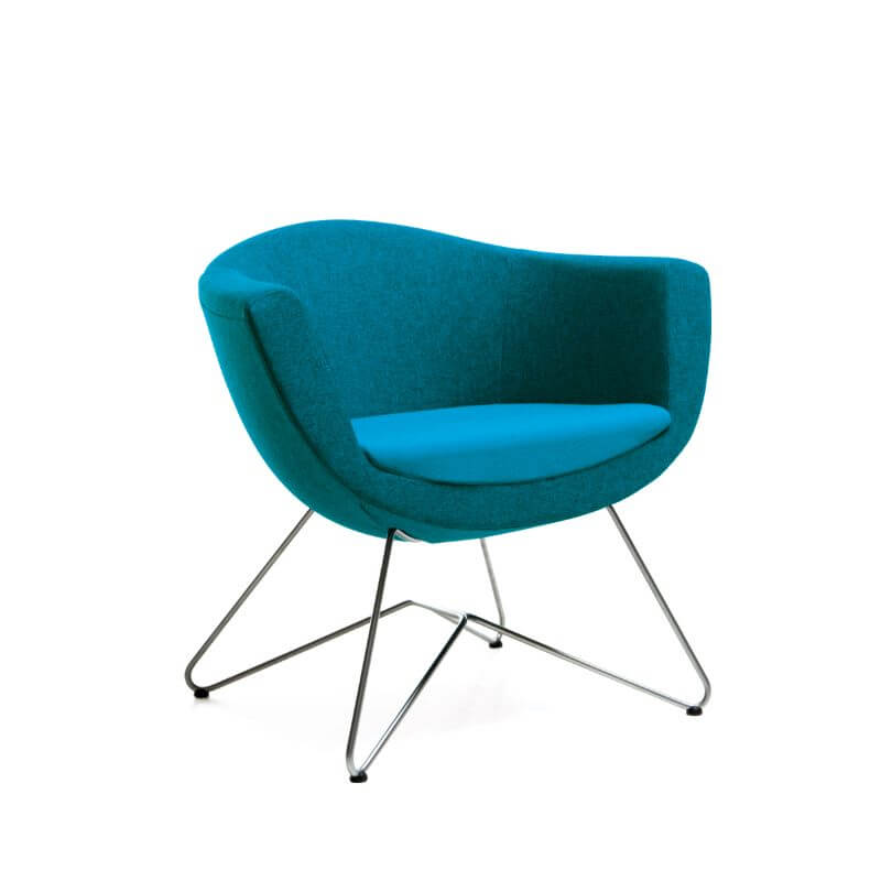 scaun elegant formă ovala
