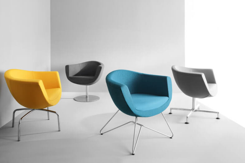 scaune elegante ovale