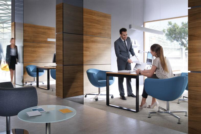 scaune ovale office