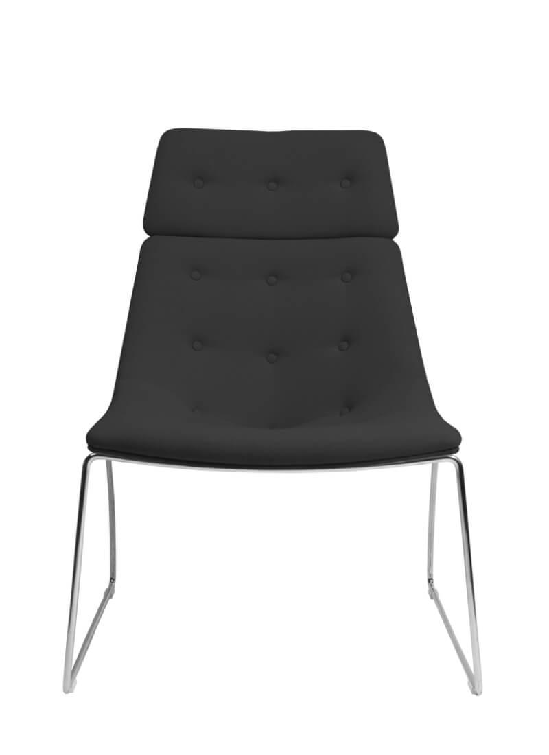 Scaun Lounge Negru