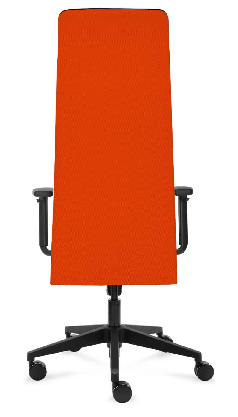 scaun ergonomic birou portocaliu