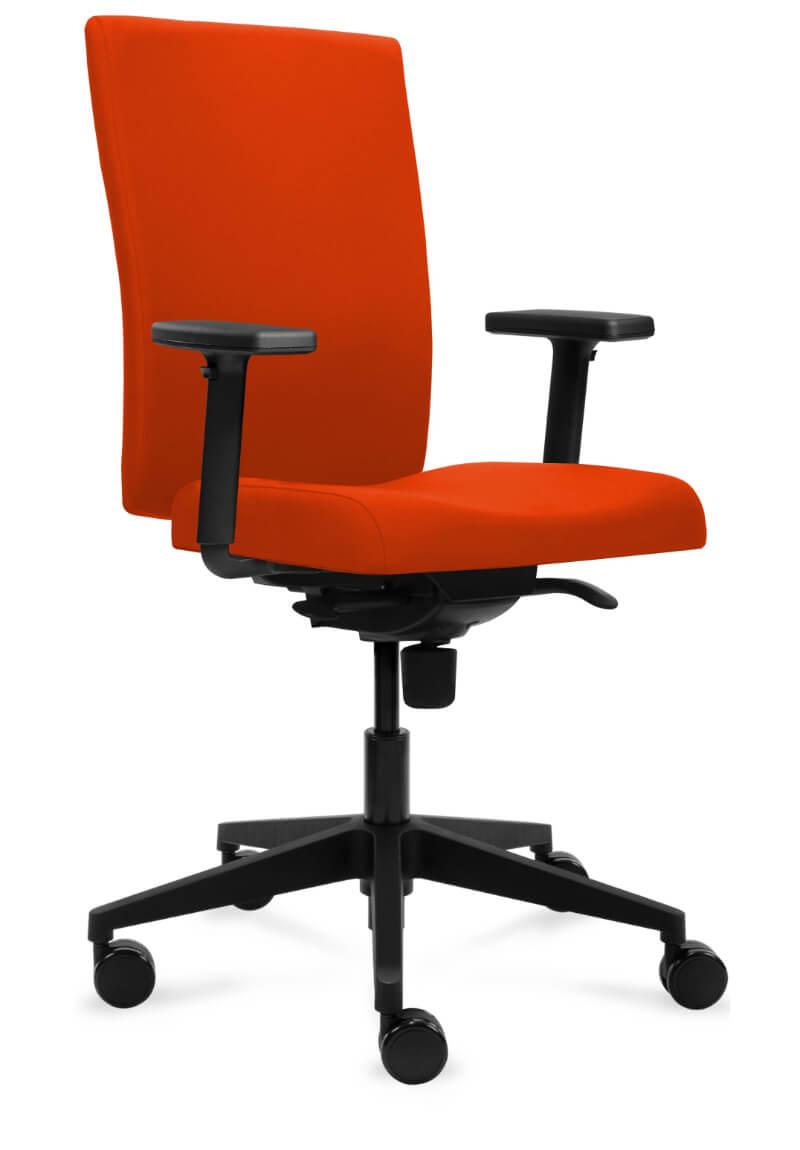 scaun ergonomic rosu birou