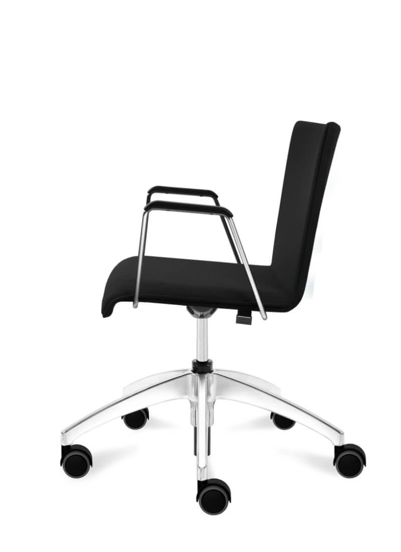 scaun managerial negru