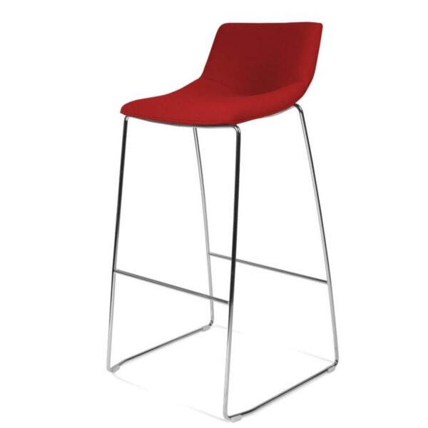 scaun rosu bar