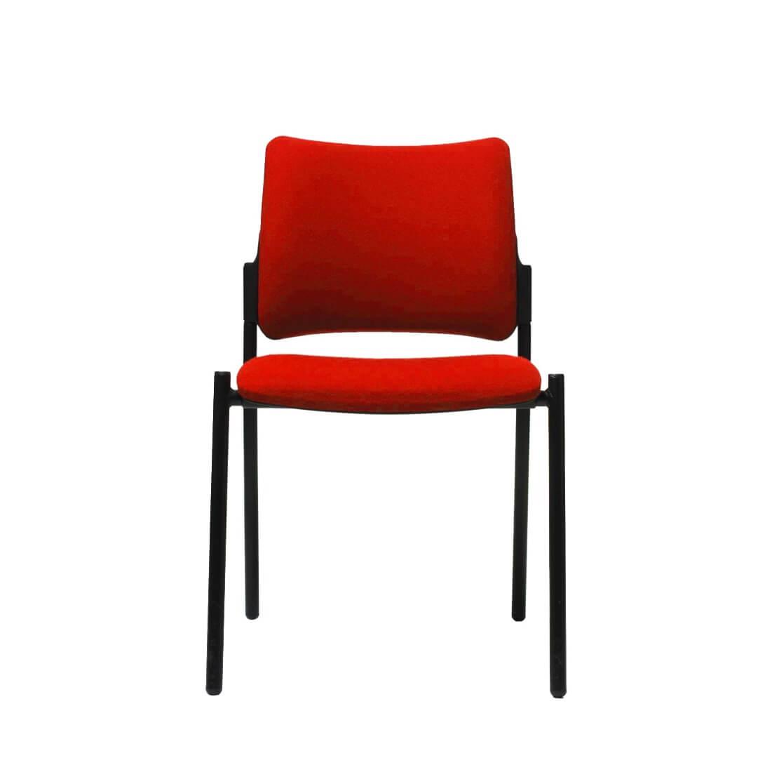 scaun rosu cafenea