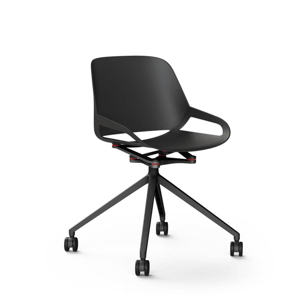 scaun design negru
