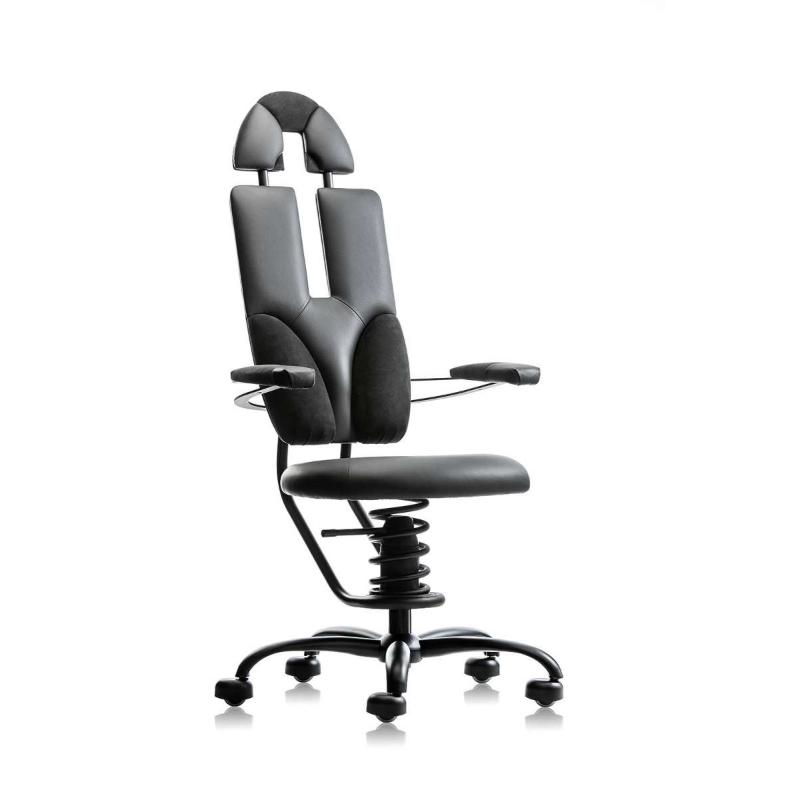 scaun ergonomic birou negru