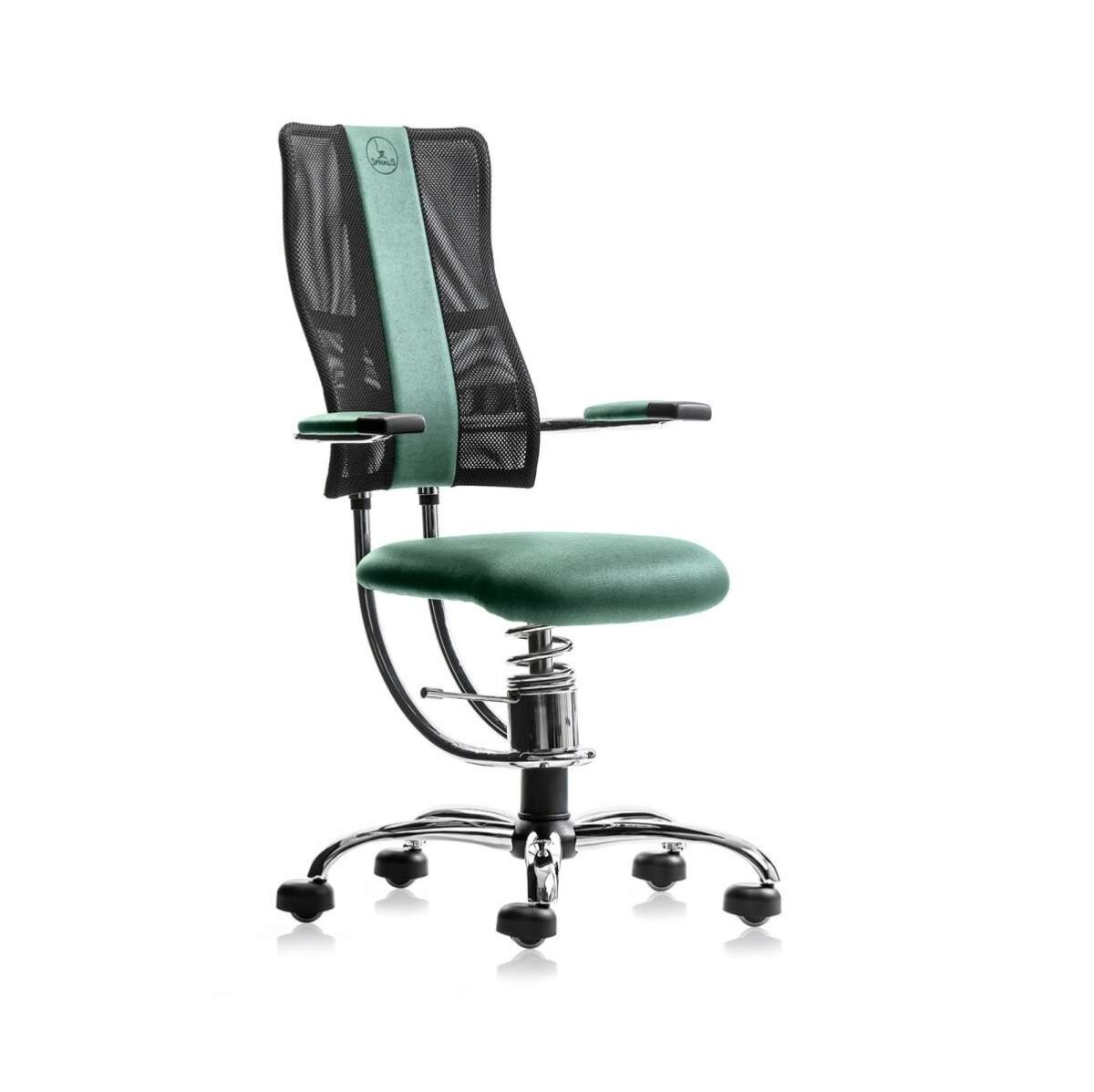 scaun ergonomic verde