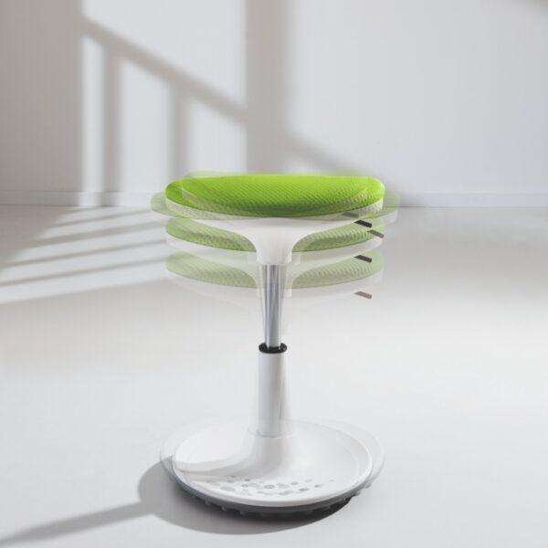 scaun reglabil verde