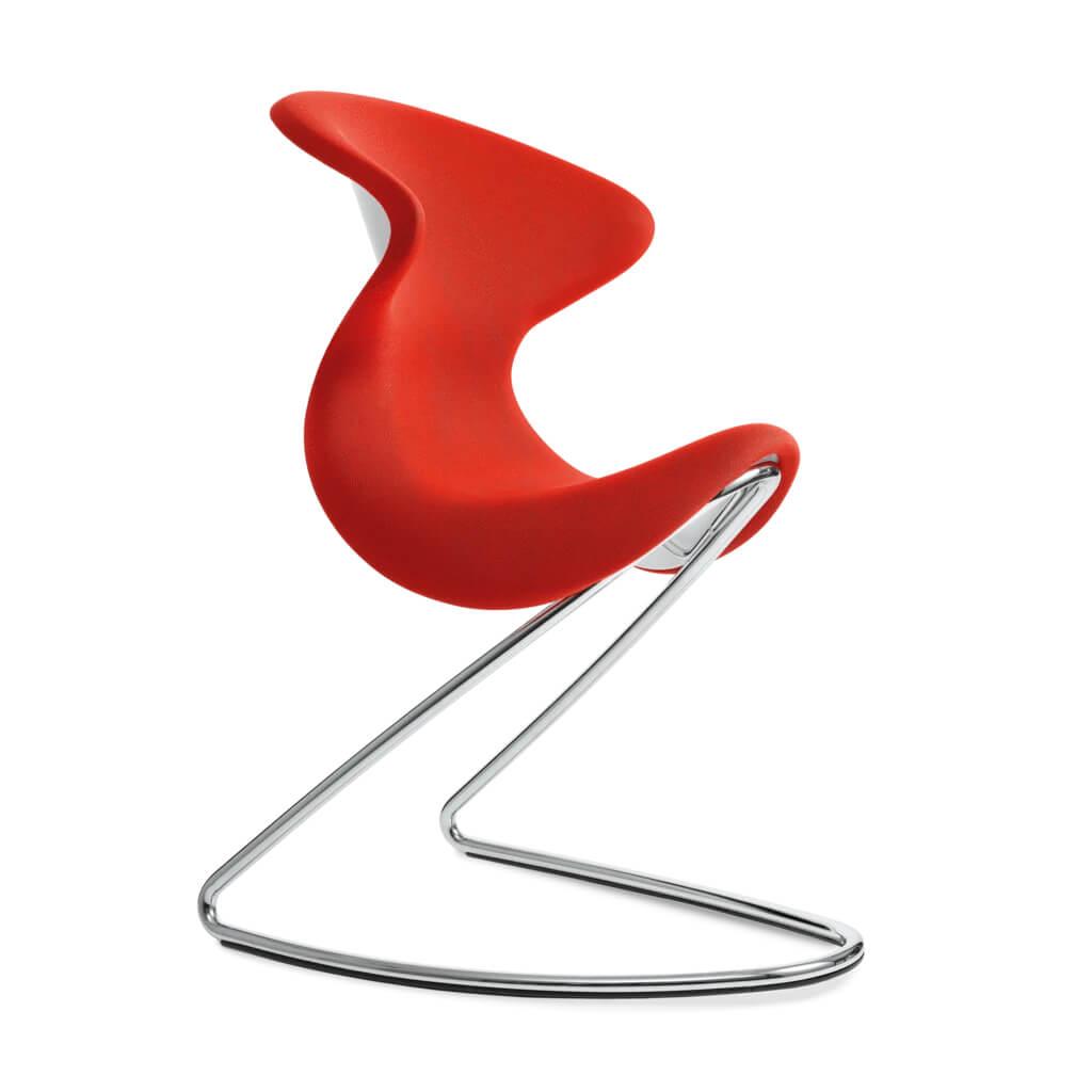 scaun rosu design