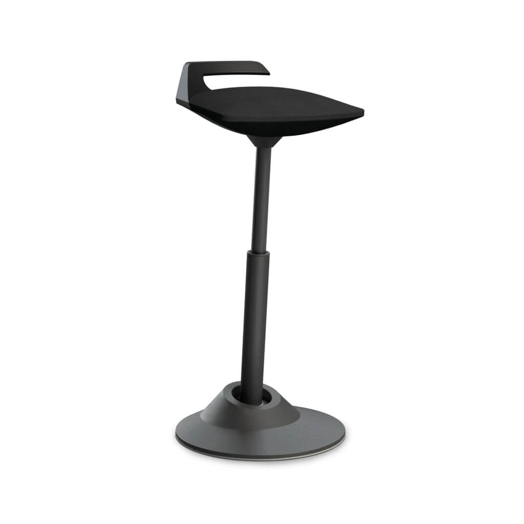 scaun rotativ negru