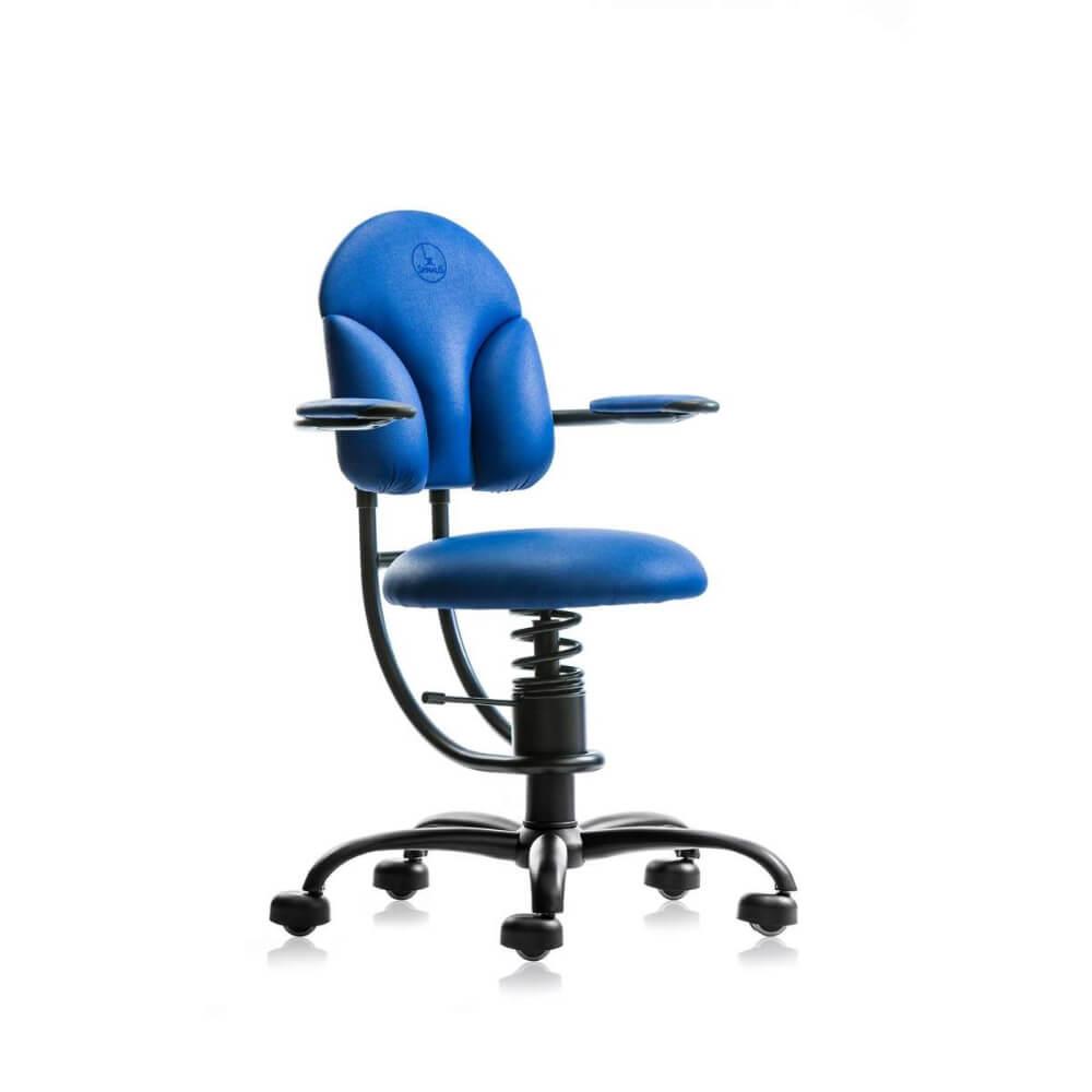 Scaun albastru birou ergonomic