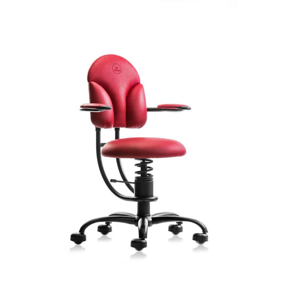 Scaun birou rosu ergonomic reglabil