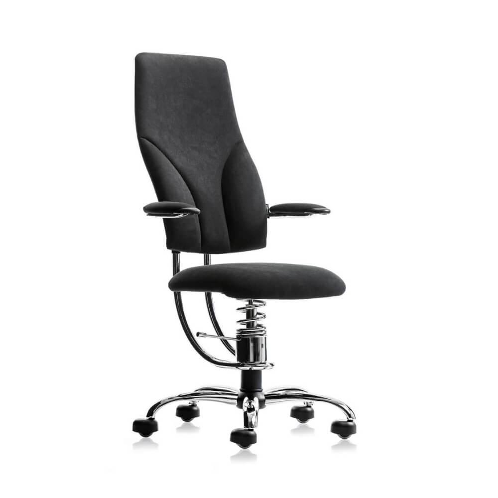 Scaun negru birou ergonomic reglabil