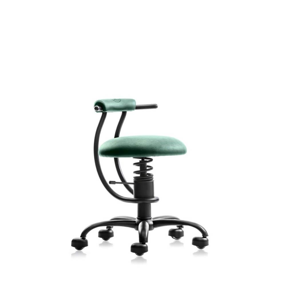 scaun de lucru verde