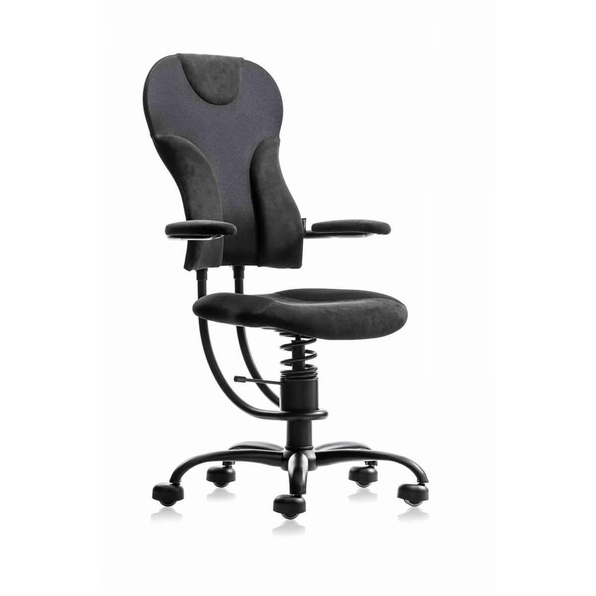 scaun ergonomic negru
