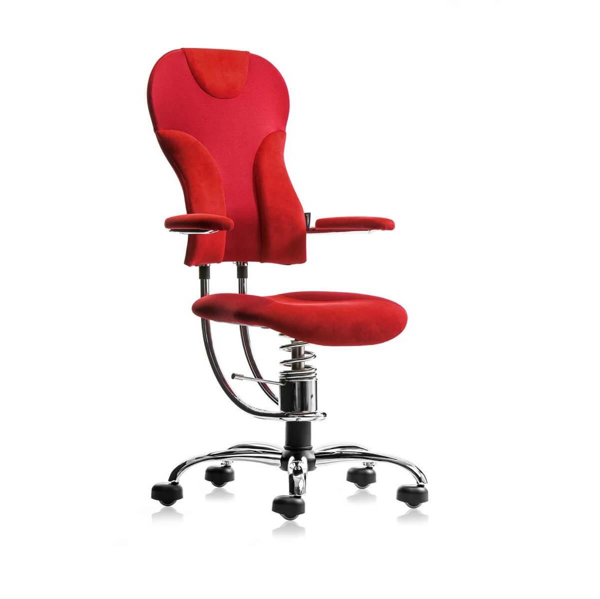 scaun rosu Alcantara