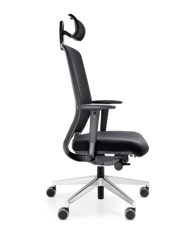 scaun de birou cu tetiera