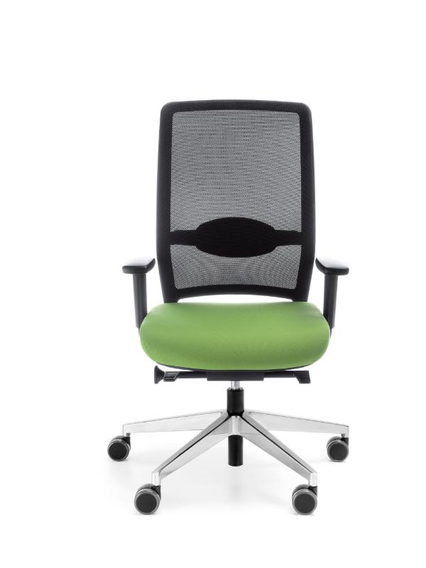 scaun ergonomic birou sezut verde