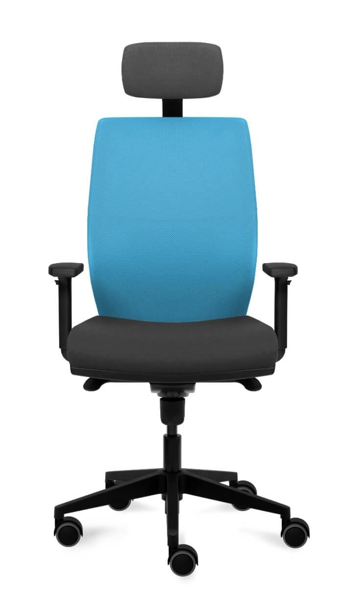 scaun ergonomic cu tetiera birou