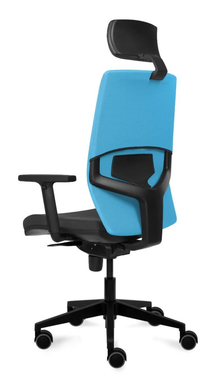 scaun ergonomic de birou cu tetiera