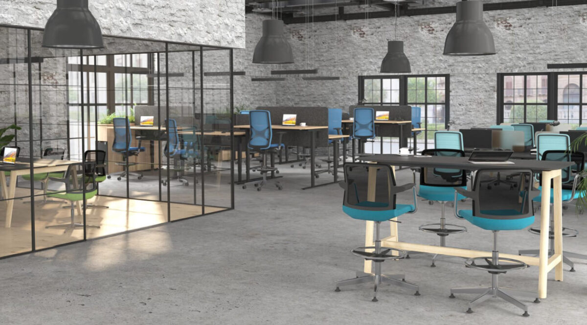 scaun pivotant design modern