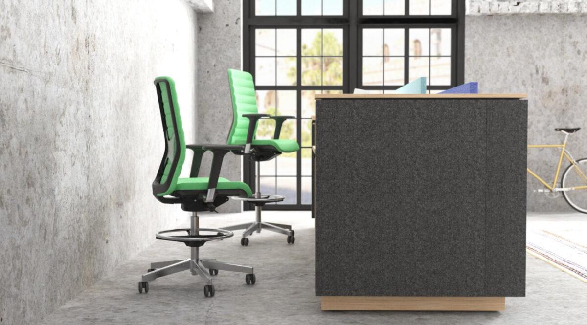 scaun pivotant design unic